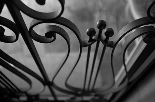 BARTHELEMY Marie - chambre clair de lune détail ferronnerie © BARTHELEMY Marie