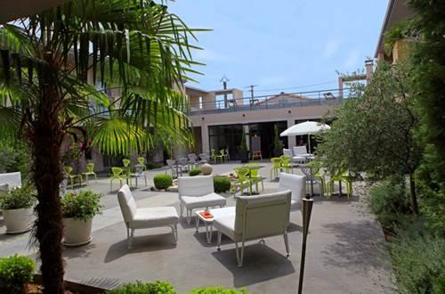 Hôtel Patio de Violette Uzès Terrasse © Hôtel Patio de Violette