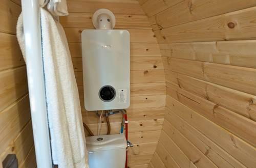 Salle de douche avec WC ©