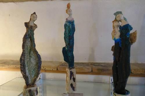 Galerie Angélique - statuettes © Galerie Angélique