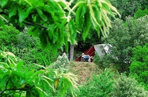 camping semi-sauvage ©