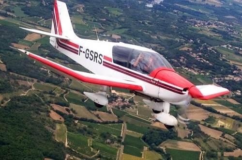 Aéroclub d'Alès et des Cévennes - avion en vol 2 - Deaux ©