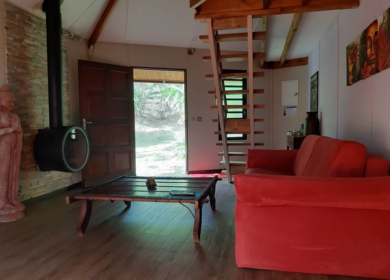 Lodge Terre de soleil - Bungalow Indien